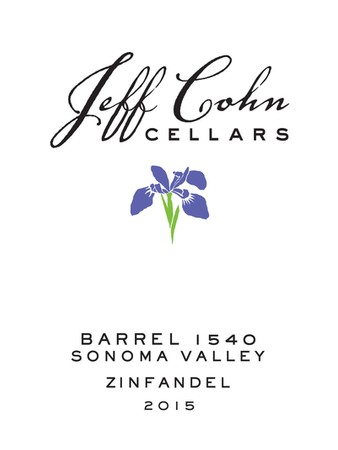 2015 Barrel 1540 Zinfandel