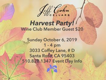 Harvest Party Wine Club Guest